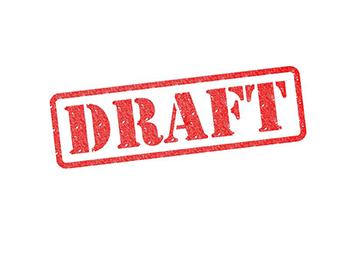 未承認の書類にDRAFT表示を入れることができるようになりました